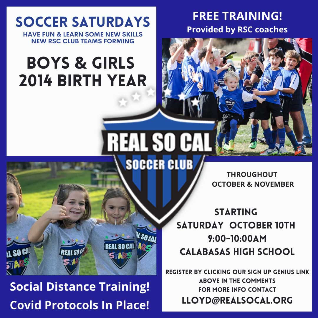 Real So Cal 2014 skills clinics are delivered by RSC coaching staff and are completely free.